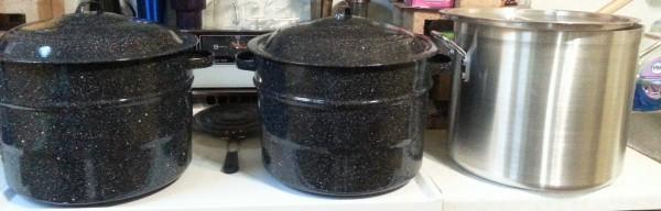 Needed pots