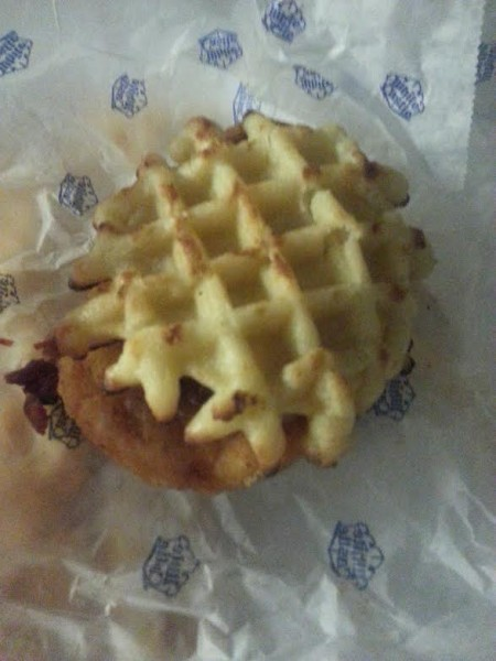 Chicken & Waffle Slider