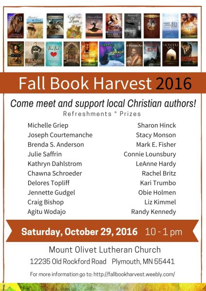 Fall Book Harvest 2016
